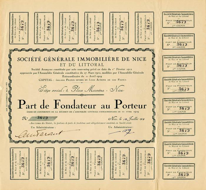 Societe Generale Immobiliere De Nice