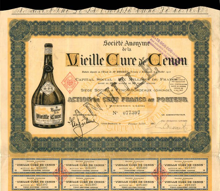 Societe Anonyme de la Vieille Cure de Cenon