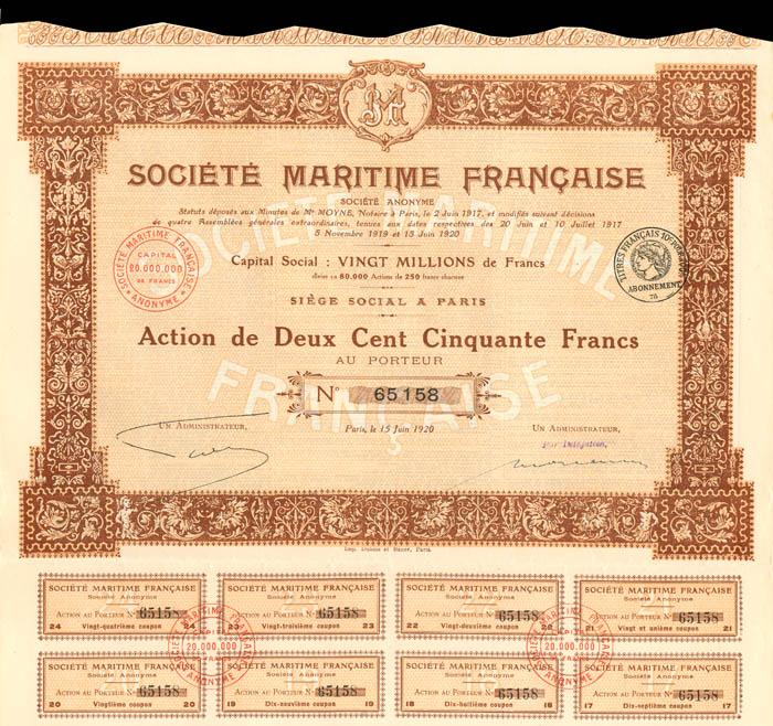 Societe Maritime Francaise