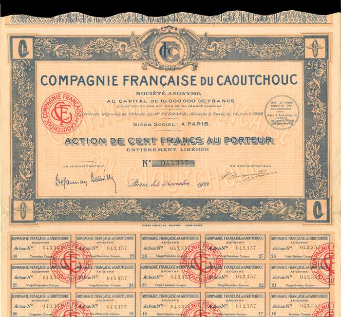 Compagnie Francaise Du Caoutchouc