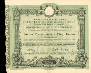 Credit Foncier De France - 20 Francs