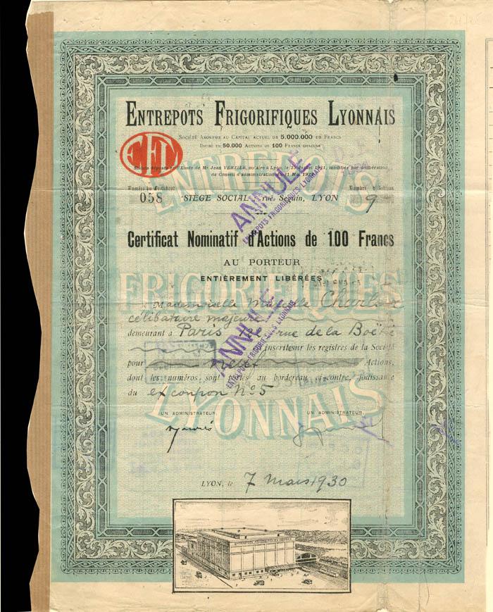Entrepots Frigorifiques Lyonnais