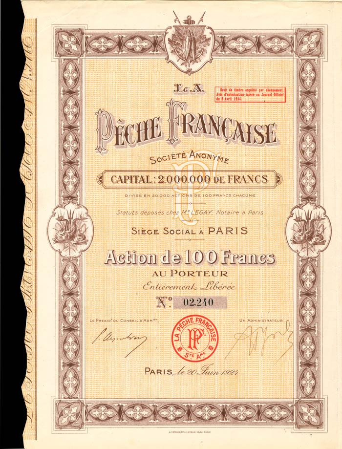 La Peche Francaise