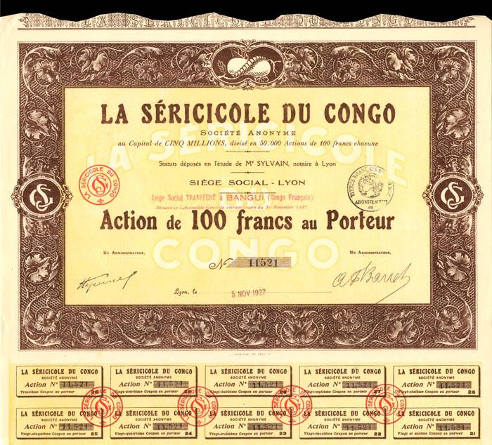 La Sericicole Du Congo
