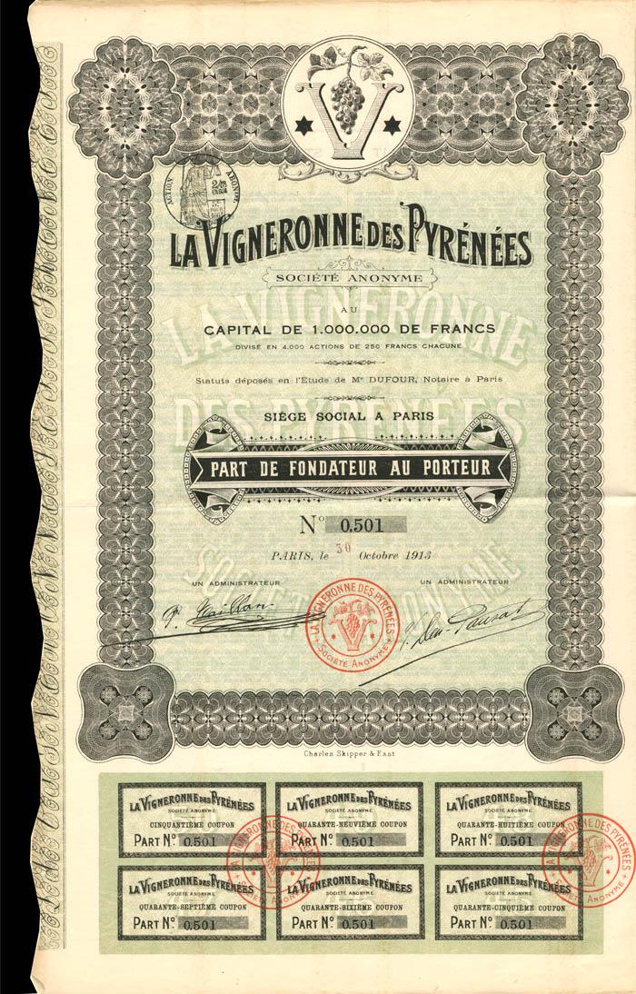 LaVigneronne Des Pyrenees
