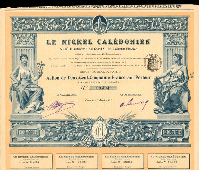 Le Nickel Caledonien