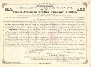 Franco-American Trading Company, Limited