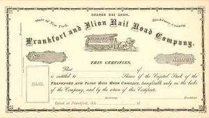 Frankfort and Ilion Rail Road Company