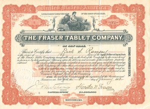 Fraser Tablet Company, of New York