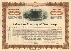 Friars Gas Company of New Jersey