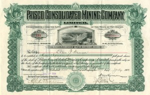 Frisco Consolidated Mining Company, Limited- SOLD
