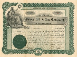 Frisco Oil & Gas Company - SOLD