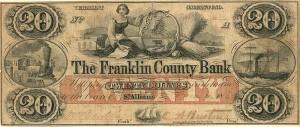 Franklin County Bank - SOLD