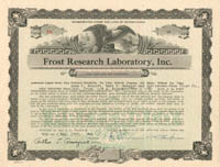 Frost Research Laboratory, Inc.