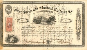 Fort Street and Elmwood Railway Co.