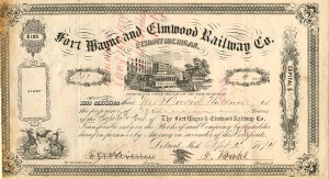 Fort Wayne and Elmwood Railway Co.