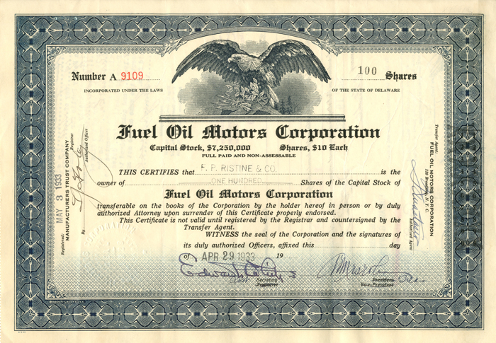 Fuel Oil Motors Corporation