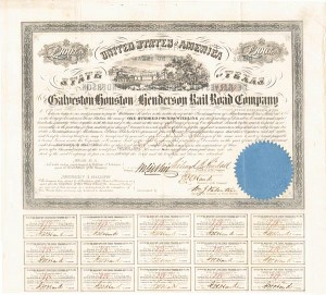 Galveston, Houston and Henderson Railroad Company