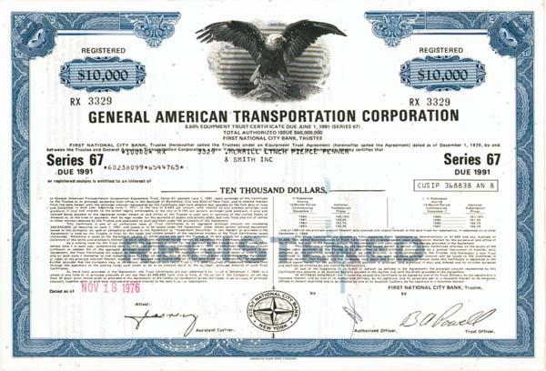 General American Transportation Corporation