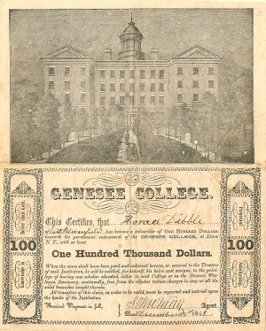 Genesee College - SOLD