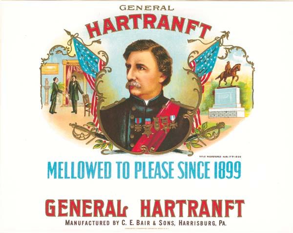 Cigar Box Labels - General Hartranft
