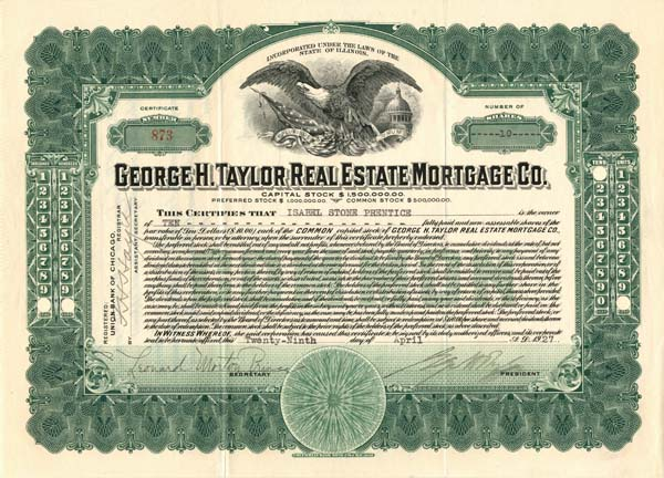 George H. Taylor Real Estate Mortgage Co.