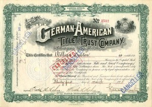 German-American Title and Trust Company