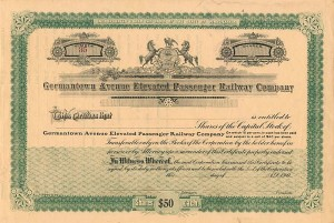 Germantown Avenue Elevated Passenger Railway Company