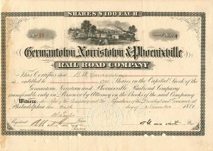 Germantown, Norristown & Phoenixville Rail Road Company