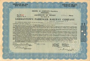 Germantown Passenger Railway Company