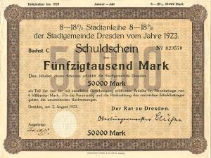 German Stocks and Bonds
