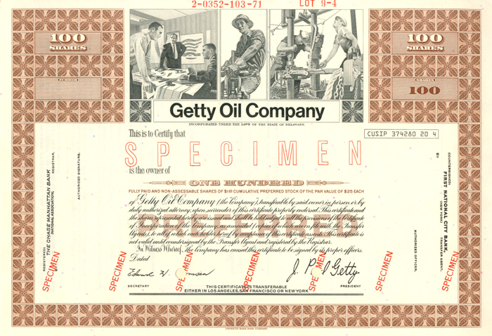 "Getty Oil Company - The Man behind the Movie ""All the Money in the World"""