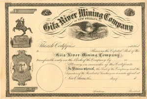 Gila River Mining Company of New Orleans, L.A.