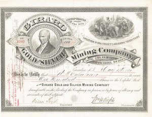 Girard Gold and Silver Mining Company - SOLD
