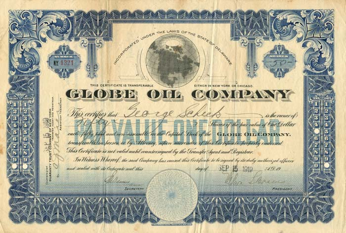 Globe Oil Company