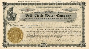 Gold Circle Water Company