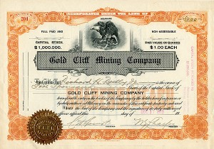 Gold Cliff Mining Company