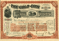 Gold Coin Mines Company