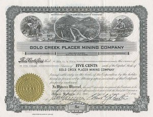 Gold Creek Placer Mining Company