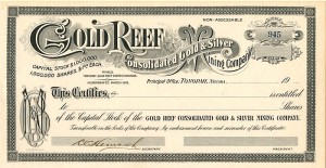 Gold Reef Consolidated Gold & Silver Mining Company
