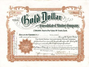 Gold Dollar Consolidated Mining Company