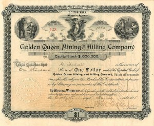 Golden Queen Mining and Milling Company