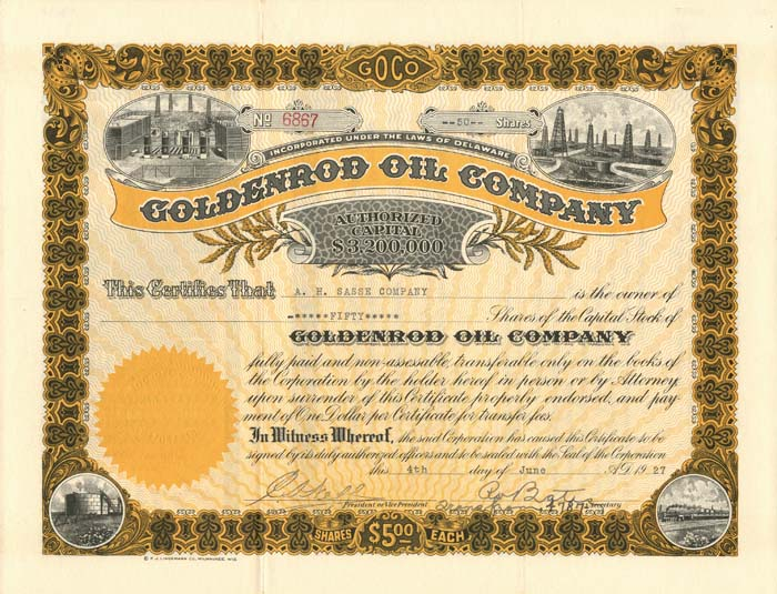Goldenrod Oil Company