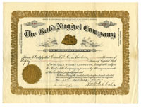 Gold Nugget Company