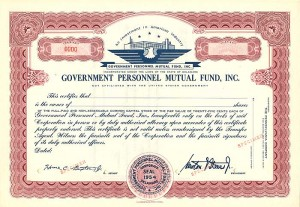 Government Personnel Mutual Fund, Inc.