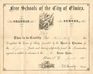 Free Schools of the City of Elmira