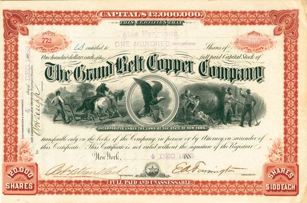 Grand Belt Copper Company