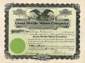 Great Divide Mines Company