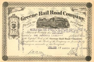 Greene Rail Road Company