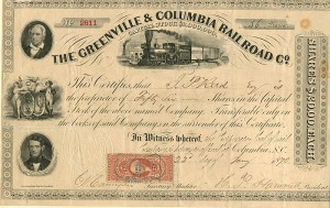 Greenville & Columbia Railroad Co.